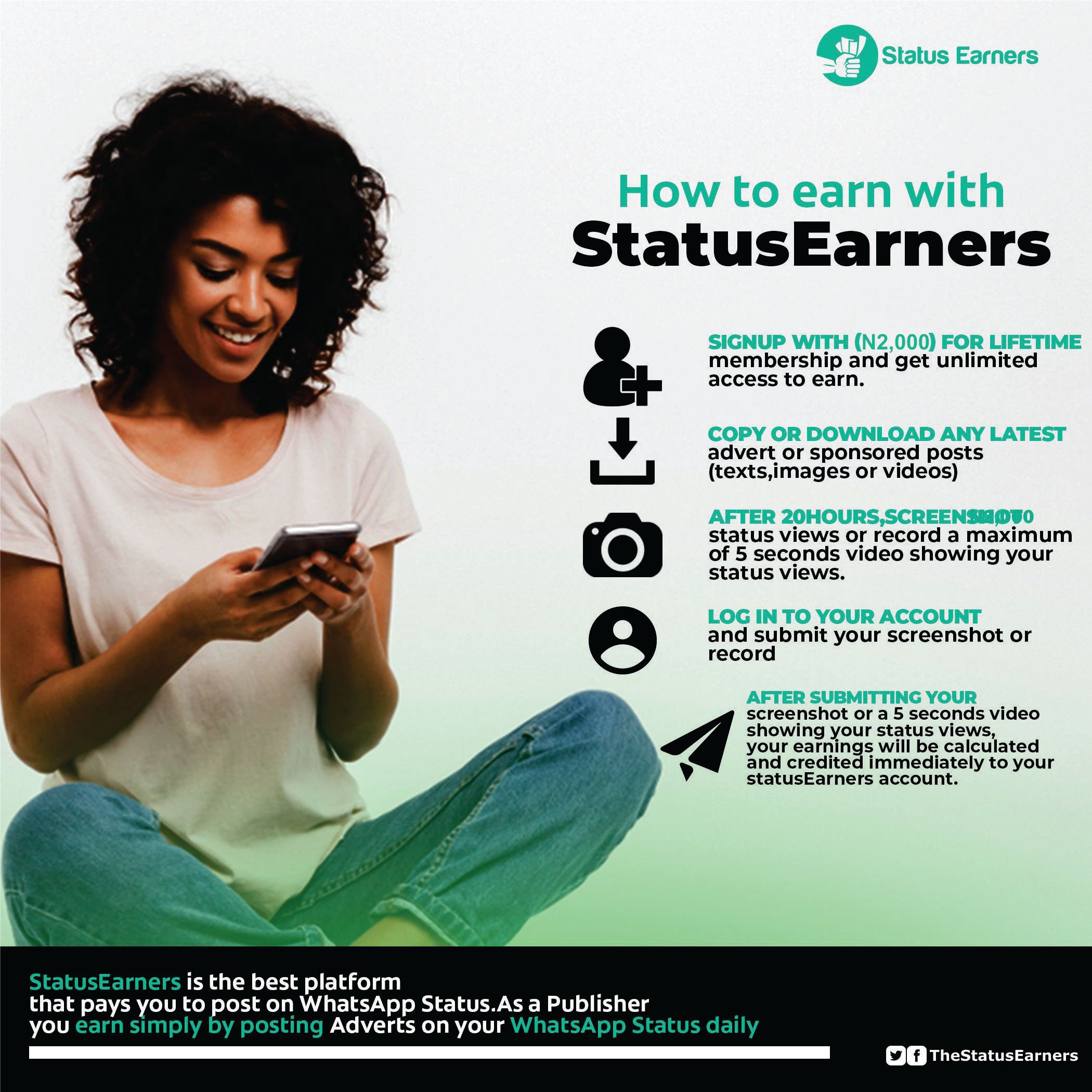 How to Earn on Status Earners